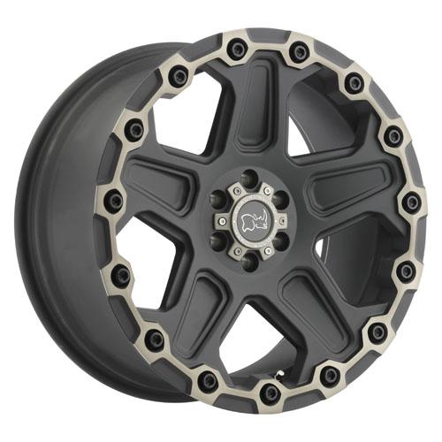 Black Rhino Wheels Cog Black
