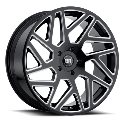 Black Rhino Wheels Cyclone Black