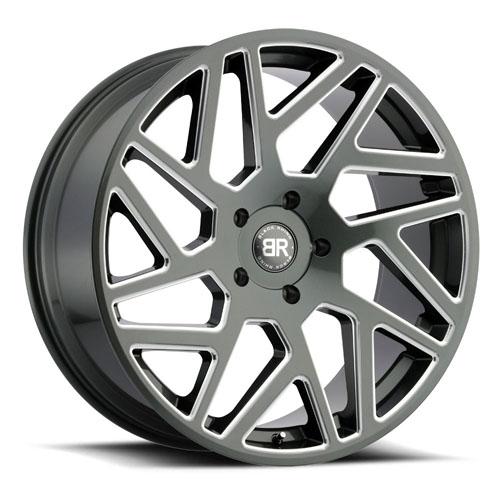 Black Rhino Wheels Cyclone Gunmetal