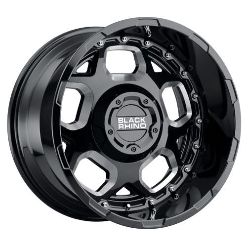 Black Rhino Wheels Gusset Black