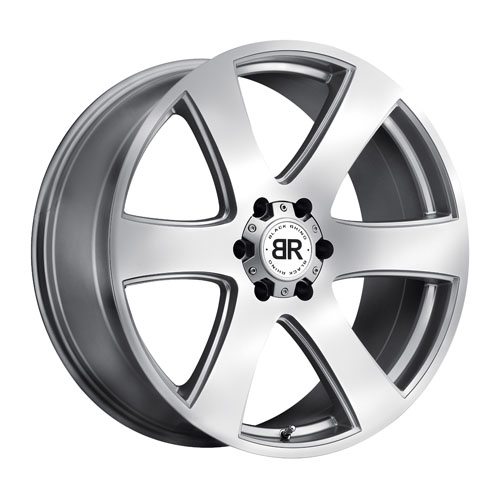 Black Rhino Wheels Haka Silver