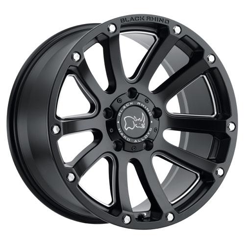 Black Rhino Wheels Highland Black