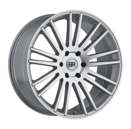 Black Rhino Wheels Kruger Silver
