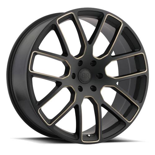 Black Rhino Wheels Kunene Black