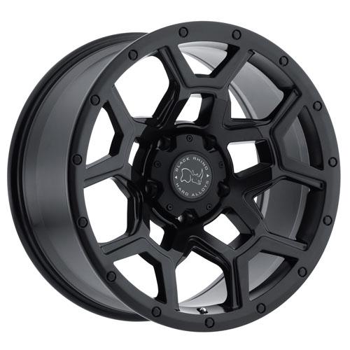 Black Rhino Wheels Overland Black