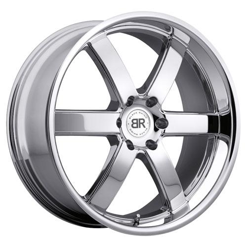 Black Rhino Wheels Pondora Chrome
