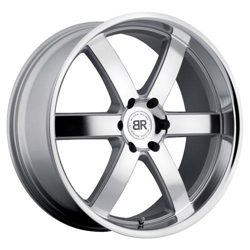 Black Rhino Wheels Pondora Silver