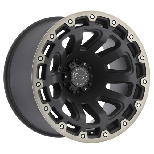 Black Rhino Wheels Razorback Black