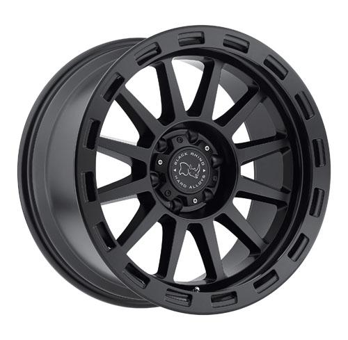 Black Rhino Wheels Revolution Black