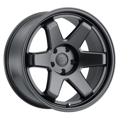 Black Rhino Wheels Roku Black