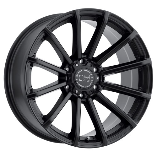 Black Rhino Wheels Rotorua Black