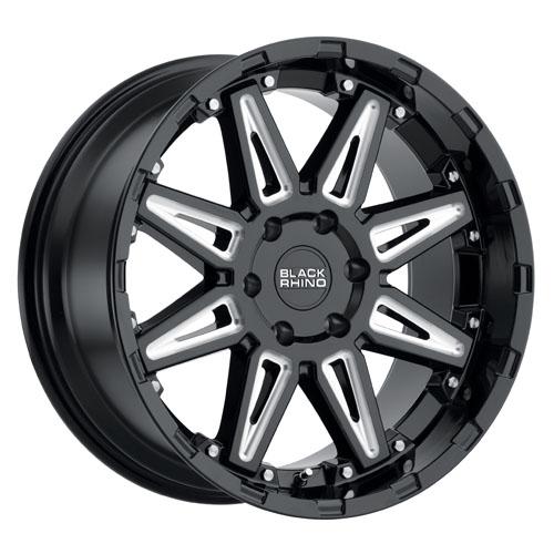 Black Rhino Wheels Rush Black