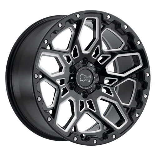 Black Rhino Wheels Shrapnel Black