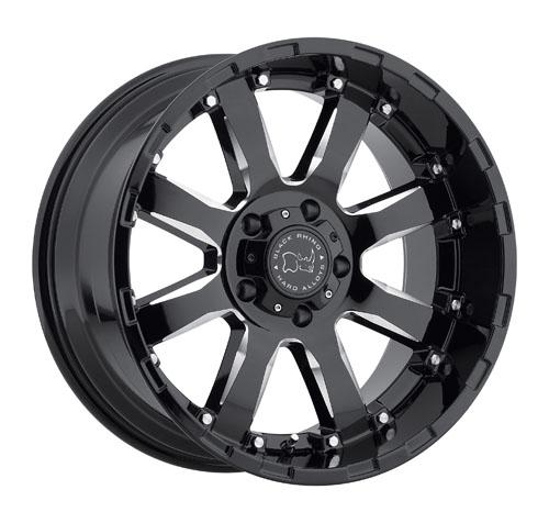 Black Rhino Wheels Sierra Black
