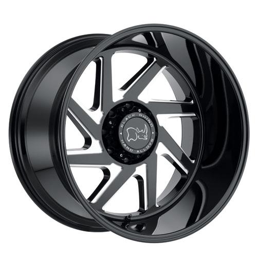 Black Rhino Wheels Swerve Black