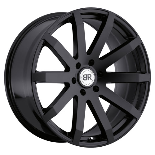 Black Rhino Wheels Traverse Black