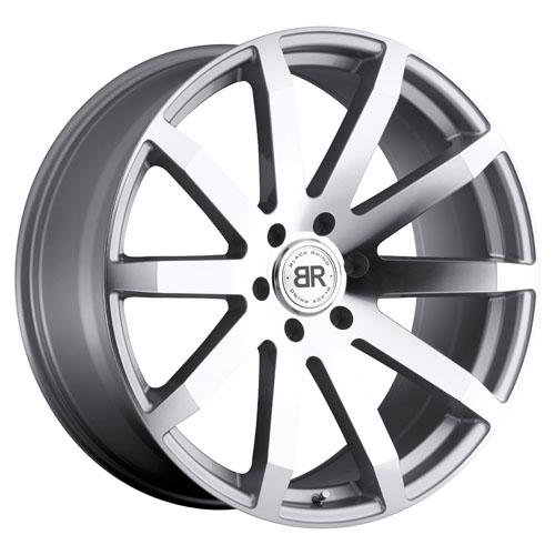 Black Rhino Wheels Traverse Silver