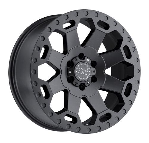 Black Rhino Wheels Warlord Gunmetal