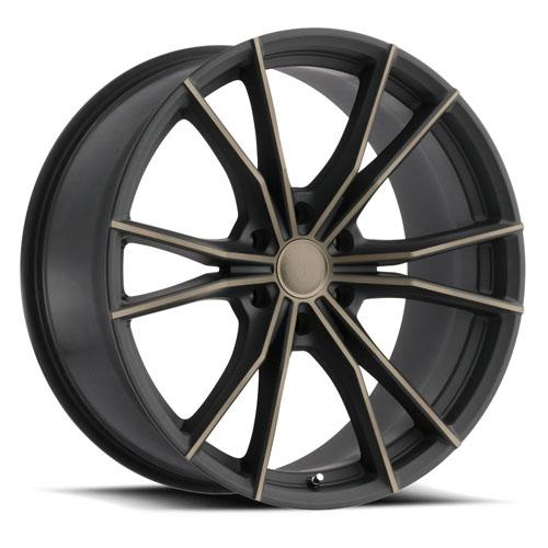Black Rhino Wheels Zion Black