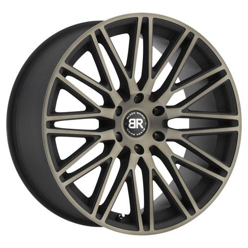 Black Rhino Wheels Zulu Black