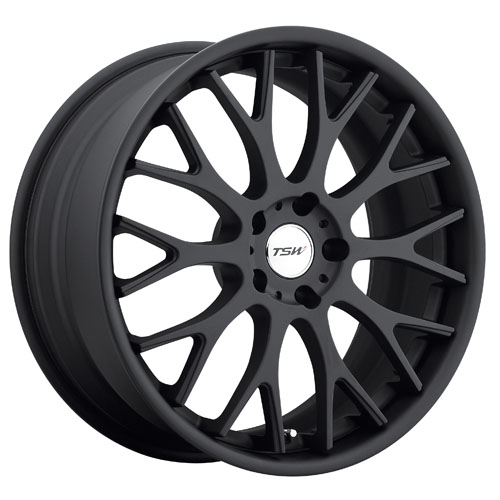 TSW Wheels Amaroo Matte Black