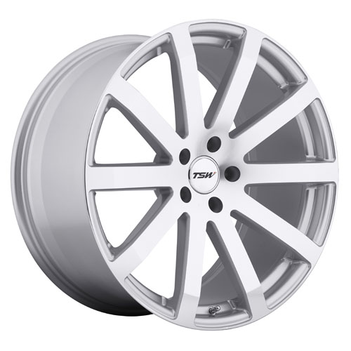 TSW Wheels Brooklands Silver W/Mirror Cut Face