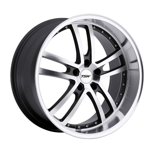 TSW Wheels Cadwell Gunmetal Mirror Cut Face/Lip
