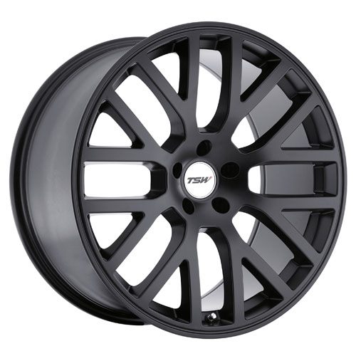 TSW Wheels Donington Matte Black