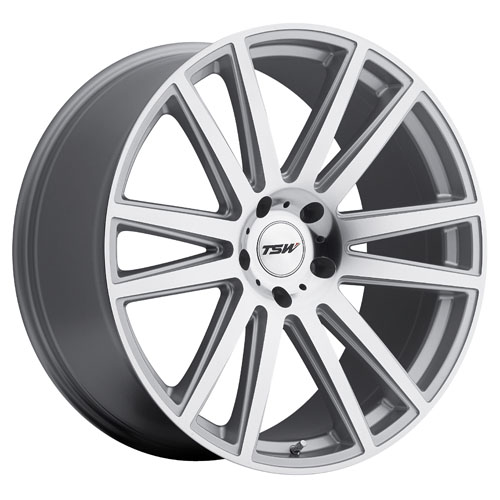 TSW Wheels Gatsby Silver W/Mirror Cut Face