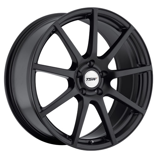 TSW Wheels Interlagos Matte Black