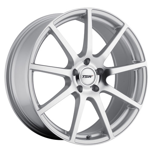 TSW Wheels Interlagos Silver W/Mirror Cut Face