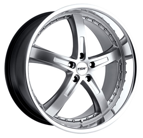 TSW Wheels Jarama Hyper Silver W/Mirror Cut Lip