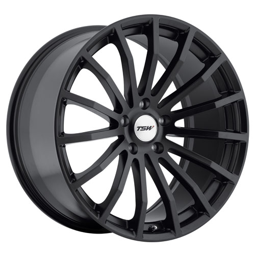 TSW Wheels Mallory Matte Black