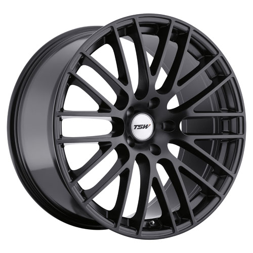 TSW Wheels Max Matte Black