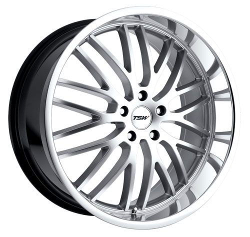 TSW Wheels Snetterton Hyper Silver W/Mirror Cut Lip