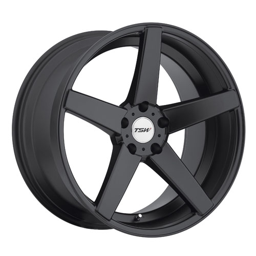 TSW Wheels Sochi Matte Black