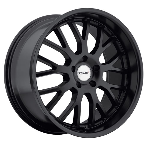 TSW Wheels Tremblant Matte Black