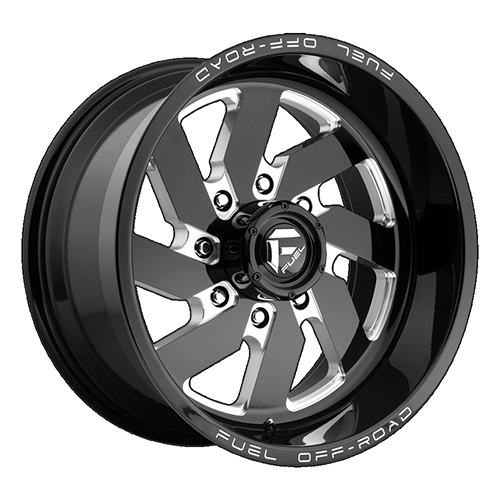 Fuel Offroad Wheels Turbo Black Milled