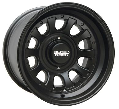 Black Rock Wheels Type D Matte Black