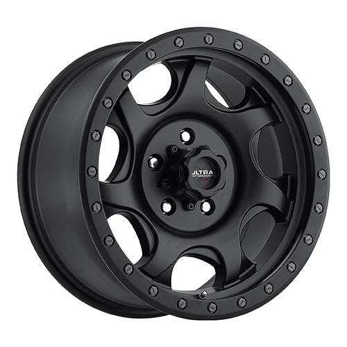 Ultra Xtreme Wheels 106 Sawblade Satin Black