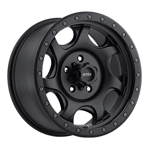 Ultra Xtreme Wheels 106 Sawblade Satin Black