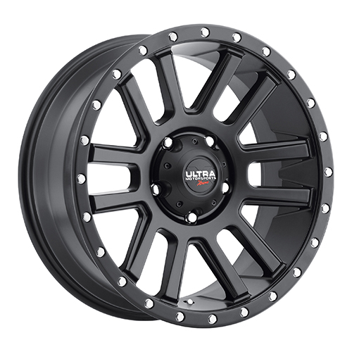 Ultra Xtreme Wheels X107 Satin Black