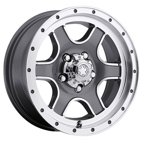 Ultra Wheels 174 Nomad Trailer Grey w/ Diamond Cut Accents