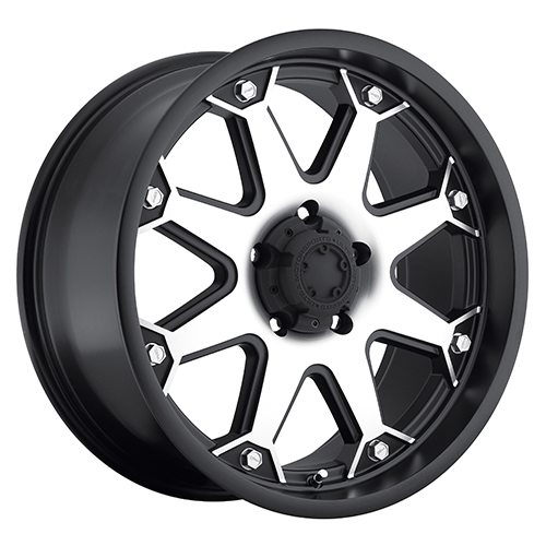 - Wheel Specials - Ultra Wheels 198 Bolt S-Blk W/Mach Face