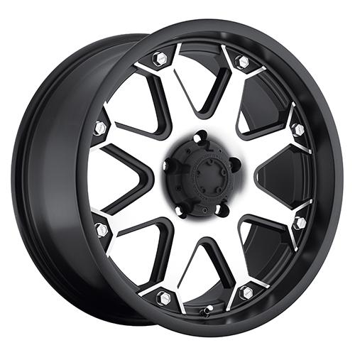 - Wheel Specials - Ultra Wheels 198 Bolt S-Blk W/Mach Face