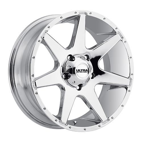 Ultra Wheels 205 Tempest Chrome Plated
