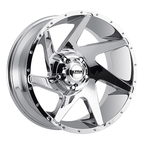 Ultra Wheels 206 Vortex Chrome Plated