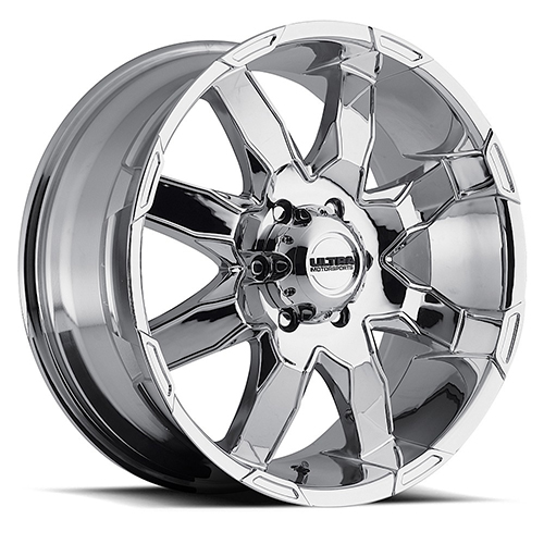 Ultra Wheels 225 Phantom  Chrome Plated