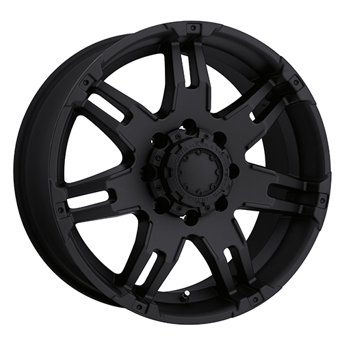 Ultra Wheels 237 Gauntlet Matte Black