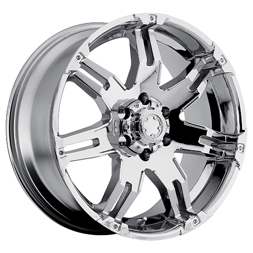 Ultra Wheels 237 Gauntlet Chrome Plated